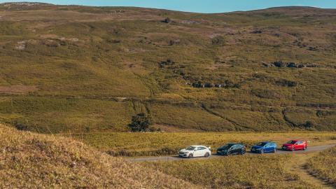 Comparativa Honda Civic Type R, Ford Focus RS, Volkswagen Golf R, Seat León Cupra (3)