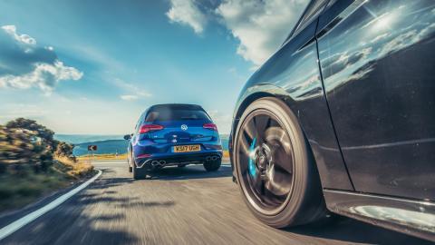 Comparativa Honda Civic Type R, Ford Focus RS, Volkswagen Golf R, Seat León Cupra (4)