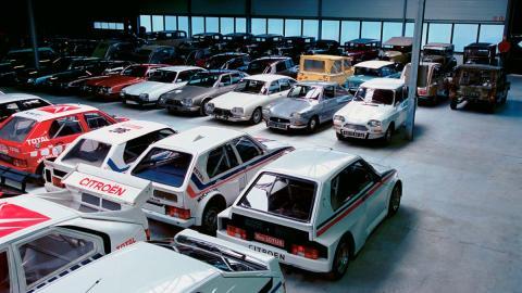 Conservatorio Citroën deportivos lujo clasicos subasta