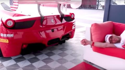 Despertador Ferrari