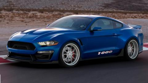 Ford Mustang Shelby 1000 deportivos muscle car drag