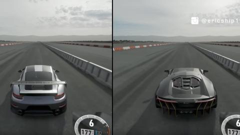 Forza Motorsport 7 - Porsche 911 GT2 RS vs Lamborghini Centenario