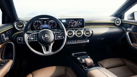 Interior del nuevo Mercedes Clase A 2018