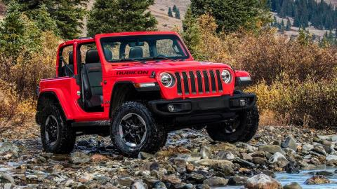 Jeep Wrangler 2018 todoterreno 4x4 off-road