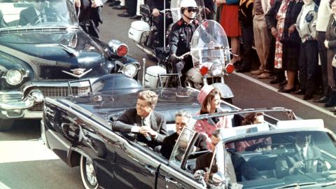 JFK_limousine Walt Cisco, Dallas Morning News