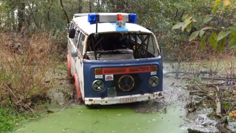 Mastermilo, un Patrol carozado con VW Van