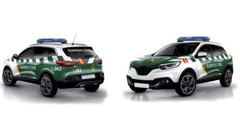 Nuevos coches de la Guardia Civil