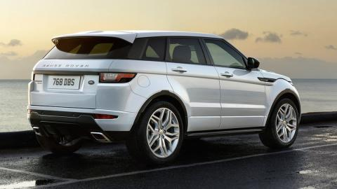 Rivales BMW X2: Range Rover Evoque (II)