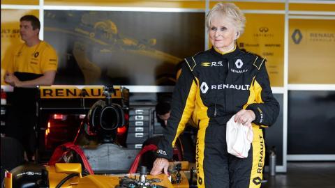 Rosemary,la yaya de la F1