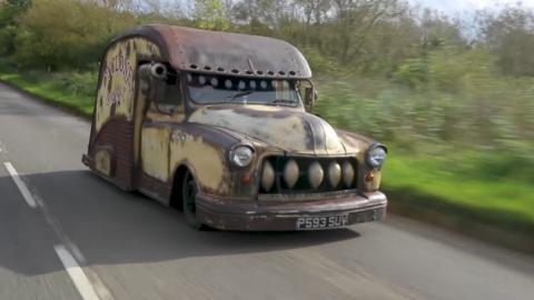 Taxi de Londres 'Rat Rod'