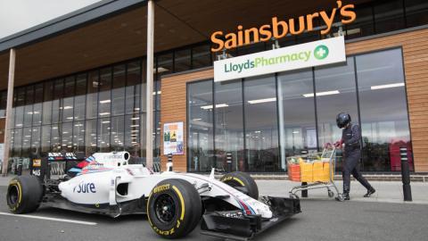La tech de Williams llega a los supermercados