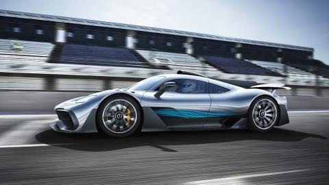 Todas las novedades del Salón del Automóvil de Los Ángeles 2017 - Mercedes-AMG Project ONE