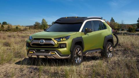Toyota FT-AC Concept SUV todoterreno off-road futuro