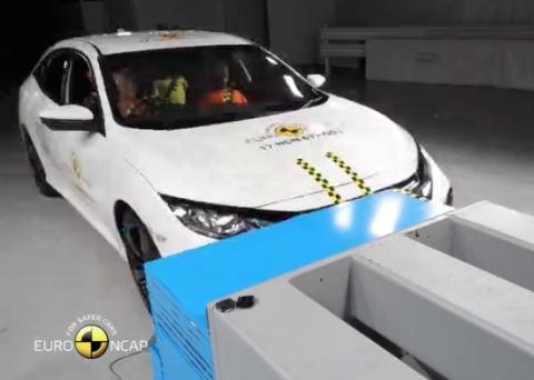 Mira en este vídeo como el Honda Civic pasó los los crash test de la Euro NCAP. Comprueban todas las hipótesis posibles para mejorar la seguridad de todos.