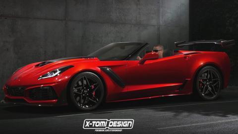 X-Tomi Design y su Corvette descapotable