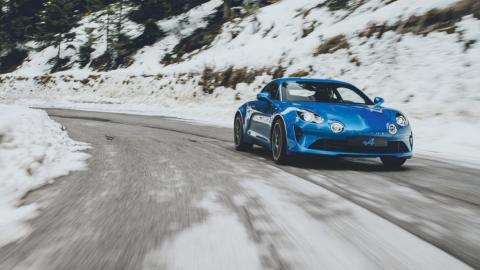 Alpine A110 nieve