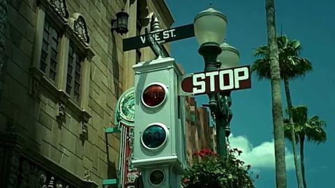 Antiguo semáforo