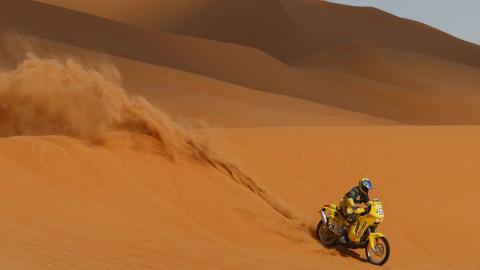 Los coches y motos del Rally Dakar 2018