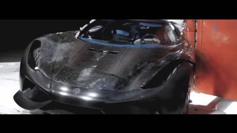 Crash test Koenigsegg