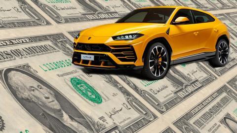 SUV de lujo caro precio dolares money millonario