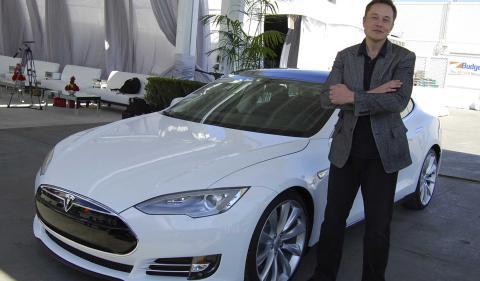 Elon Musk, de Tesla