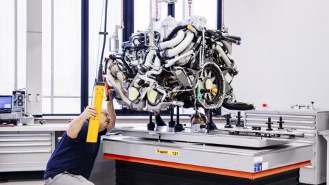 Fabricación Bugatti Chiron (III)