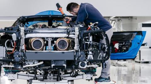 Fabricación Bugatti Chiron (IV)
