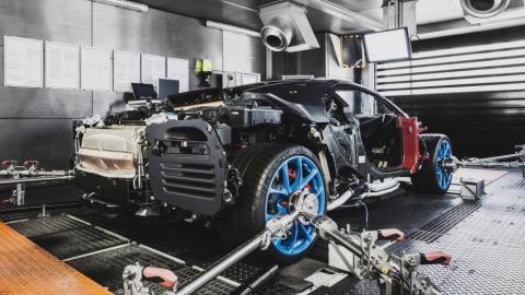 Fabricación Bugatti Chiron (IX)
