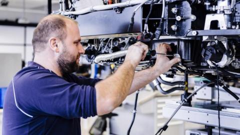 Fabricación Bugatti Chiron (V)