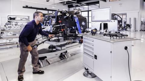 Fabricación Bugatti Chiron (VI)