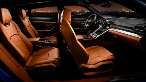 lujo SUV cuero alcantara deportivo alta gama
