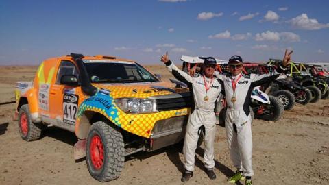 El Jeep Proto Racing de Calleja para el Dakar 2018