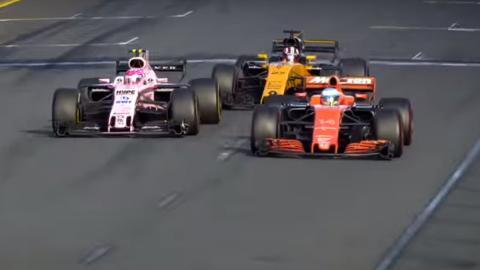 Las mejores batallas F1 2017