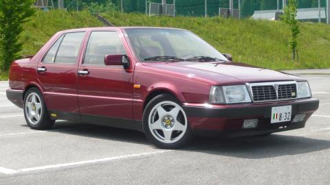 El modelo Lancia Thema con el que murió Fernando Martín