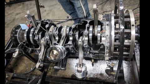 Motor explotado