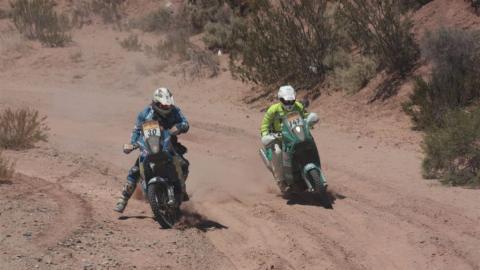 Las motos del Rally Dakar 2018