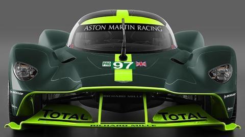 Otra decoración para elAston Martin Valkyrie de Le Mans
