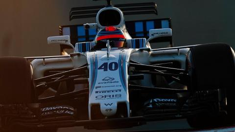 Robert Kubica ofrece una leña a Williams