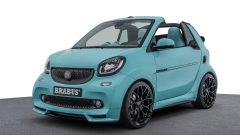 Smart Brabus Ultimate 125 preparacion lujo cuero exclusivo edicion limitada