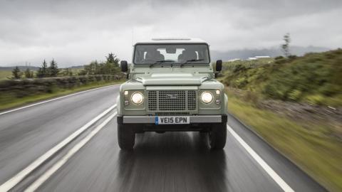 El Land Rover Defender con su carrocería de aluminio