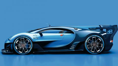 Los 5 prototipos más espectaculares de los últimos tiempos Bugatti Vision Gran Turismo Concept