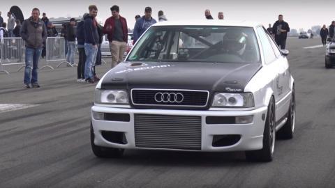 Audi S2 Turbo modificado