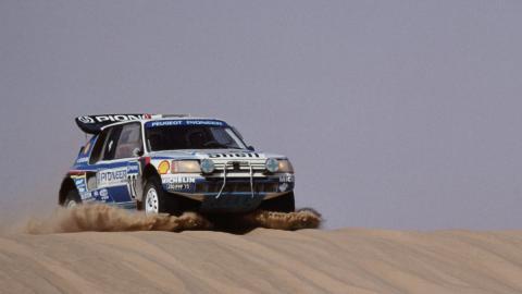 Cómo ruge el león en el Dakar