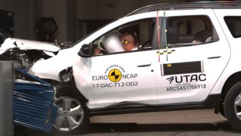 El Dacia Duster 2018 obtiene tres estrellas EuroNCAP