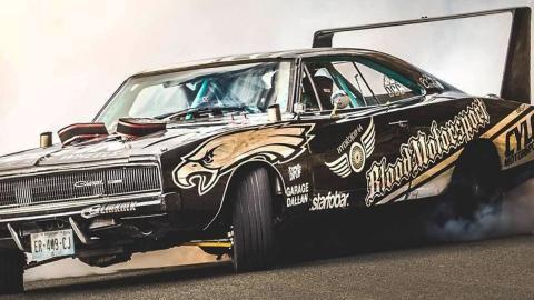 El Dodge Charger de Alexandre Claudin
