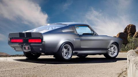 Fusion motor company co reconstruccion clasico muscle car