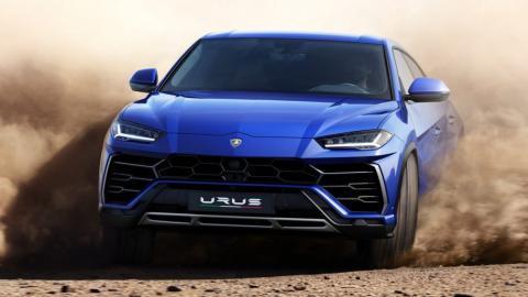Lamborghini Urus (desierto)