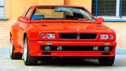 Deportivo italiano raro motor v8 exclusivo desconocido