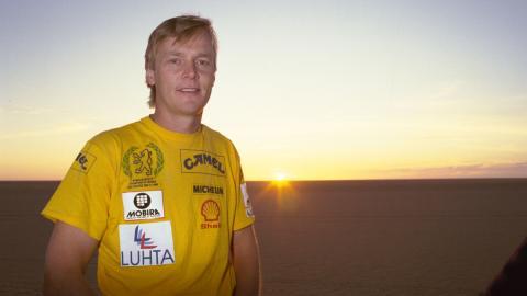 La resurrección deportiva de Ari Vatanen en el Dakar