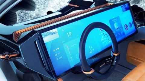 Salpicadero del Honda NeuV Concept